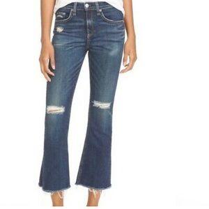Rag & Bone 10 Inch Crop Flare Jeans 24